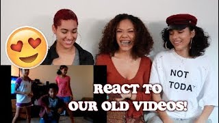 WE REACT TO OLD VIDEOS WHEN WE WERE LITTLE! 😍😭 | CERAADI