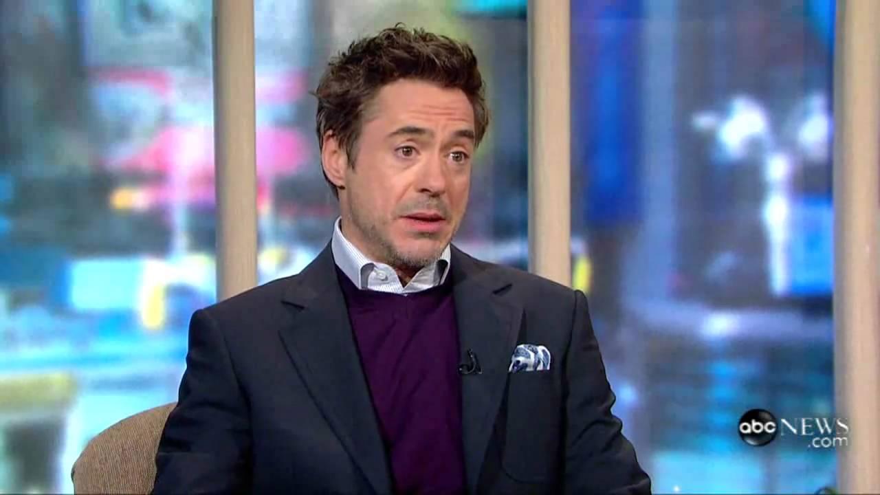 Robert Downey Jr. on Sherlock Holmes GMA - YouTube
