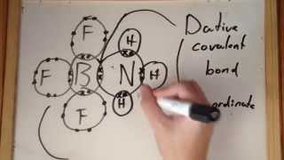 Covalent and Dative Covalent Bonding