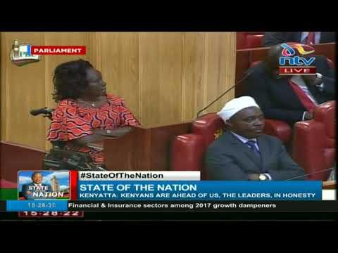 President Uhuru Kenyatta 2018  state of the nation address