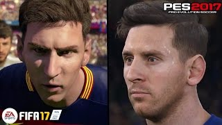 FIFA 17 vs PES 2017 ● OFFICIAL TRAILER ● MY REACTION !!!