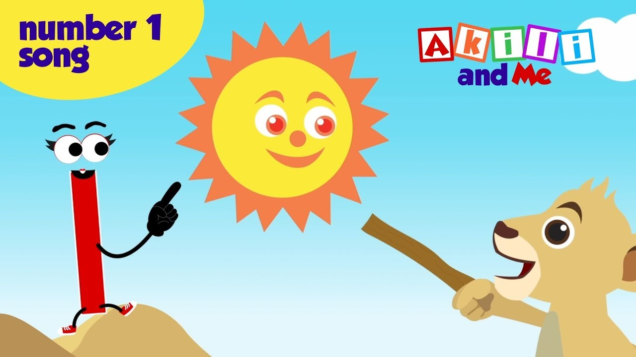 The Number One Song! - Happy New Year from Akili and Me - African Preschool Cartoons