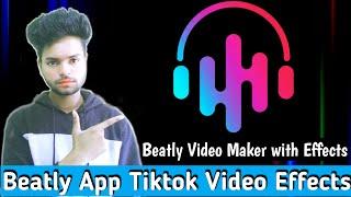 How to use Beatly app || Beatly app Tiktok video Effect || Beatly app Full tutorial screenshot 5