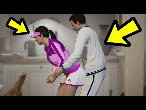 WHAT HAPPENS IF YOU LEAVE HIM WITH AMANDA? (GTA 5)