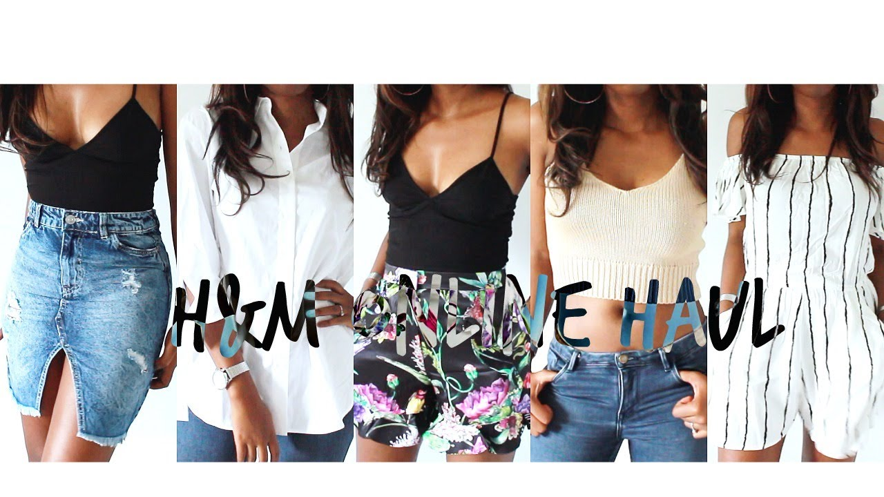 [VIDEO] - Huge H&M Haul - Summer Outfits Lookbook - #HAULWEEK   Style With Substance 2