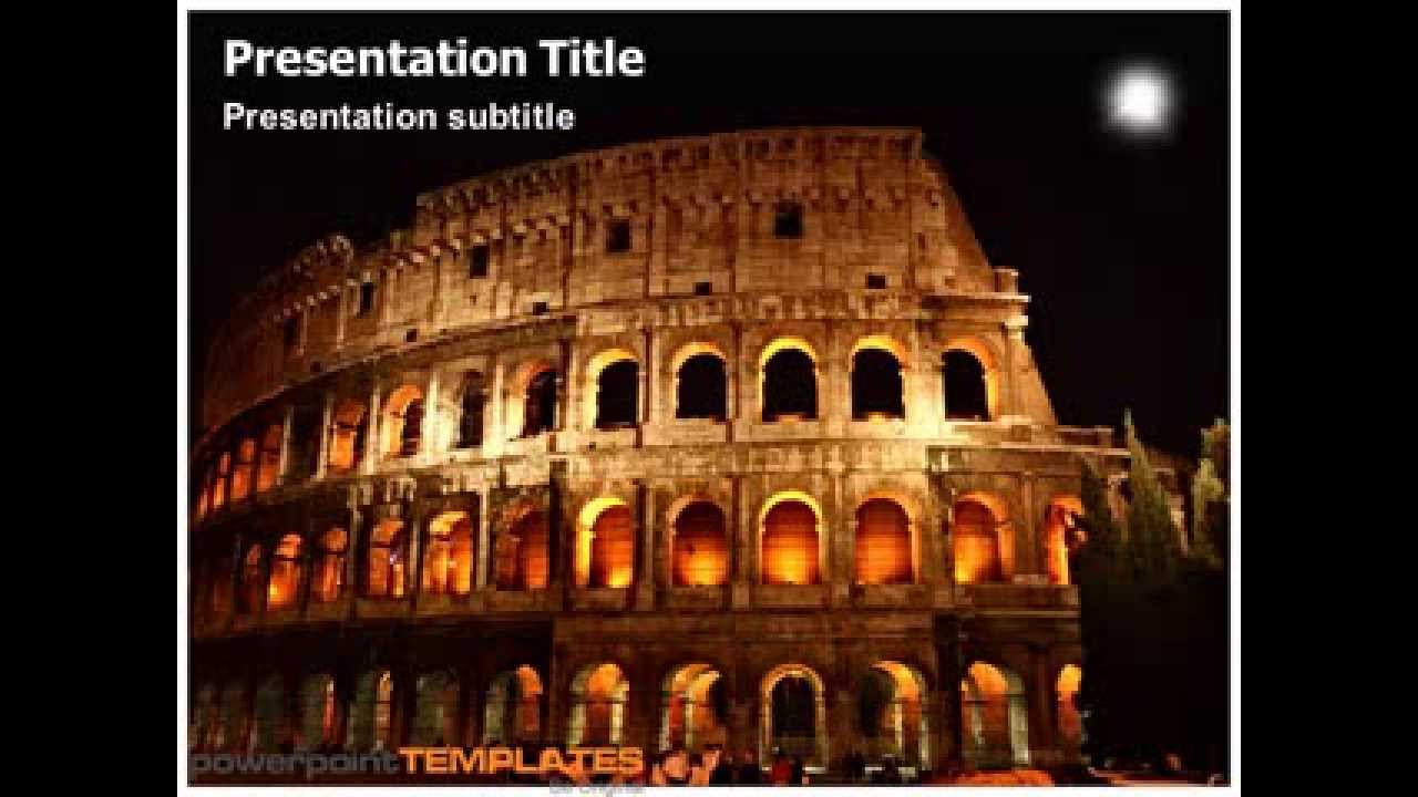 Ancient rome powerpoint presentation youtube toneelgroepblik