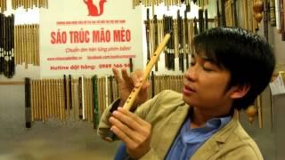Học thổi sáo bài  Bến Thượng Hải ( sáo đô)
