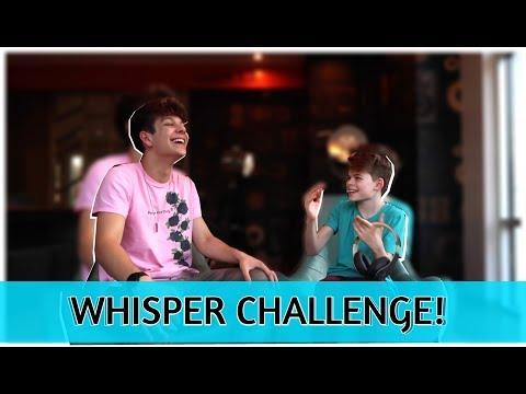 WHISPER CHALLENGE | FT. Merrick Hanna