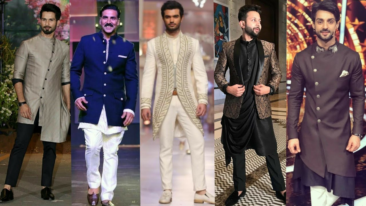 Latest Men S Indo Western Kurta Outfits For Wedding
