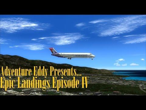 [Epic Landings] Boeing 717 @ Kahului, Hawaii