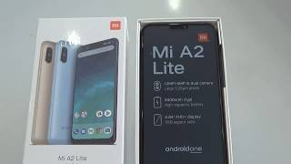 Unboxing Xiaomi mi a2 lite, RAM 4GB, ROM 64GB, black color