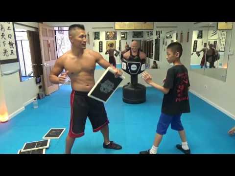 Kung Fu Kids - Board Break Training - 73016