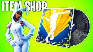 CRAZY NEW MUSIC & BUNNY SKINS RETURN! Fortnite ITEM SHOP! Daily And Featured Items!