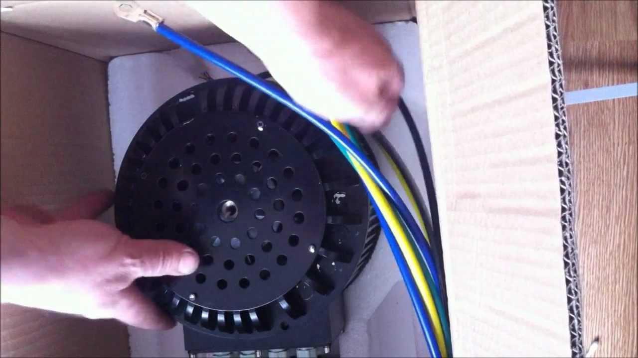 Unboxing 10KW BLDC Golden Motor