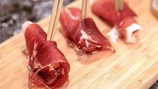 Asian Pears - Prosciutto Wrapped Pears