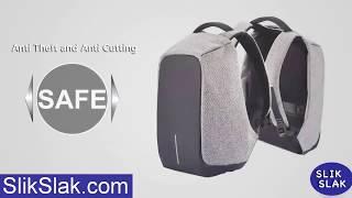 3b81db207f Ekphero® Men Anti Theft Backpack Waterproof Travel Bag With Usb ...