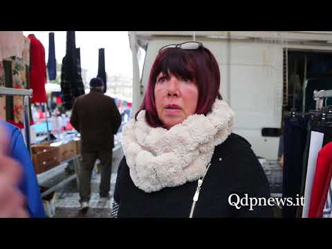 Pieve di Soligo - Mercato del sabato, interviste agli ambulanti