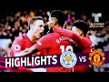 Leicester City vs. Manchester United: 0-1 Goals & Highlights | Premier League | Telemundo Deportes