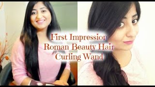First Impression Roman Beauty Hair Curling Wand RM 69 V30