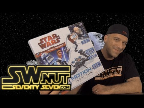Star Wars Republic Squadron Motion Plug & Play Review - Starwarsnut77