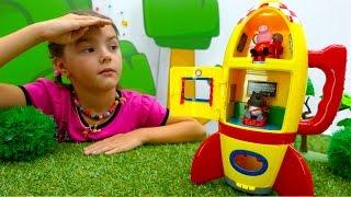 Школа для игрушек. Свинка Пеппа собирается в космос