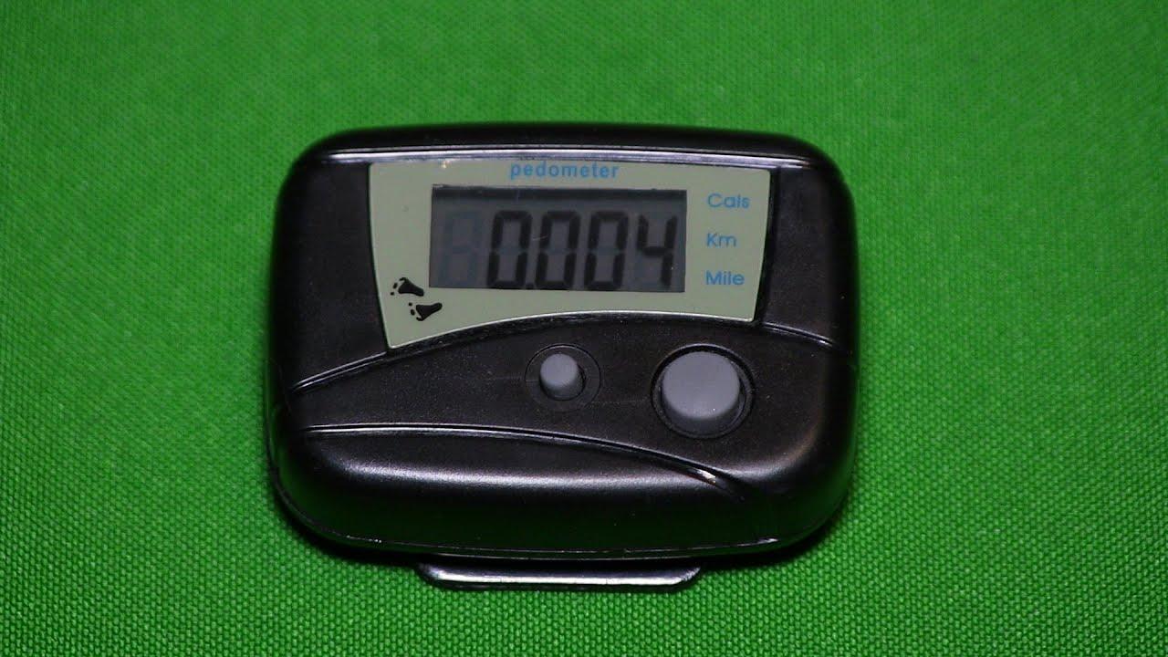 Цифровой Шагомер-LCD Step Pedometer