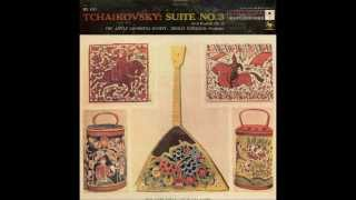 Tchaikovsky Suite No. 3 (Scherman & Little Orchestra Soc., 1955)