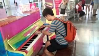 수원역 피아노 - 라 캄파넬라(La Campanella) / Street piano / 길거리 피아노