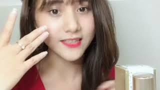 Hotface Trần Thuý Hoàn review serum và kem ngừa mụn KissA