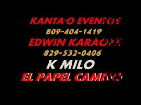 Kamilo El Papel Cambió Karaoke