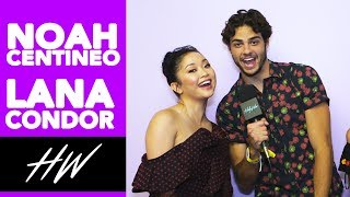 NOAH CENTINEO & LANA CONDOR Hum Their Favorite Song at VIDCON !! | Hollywire