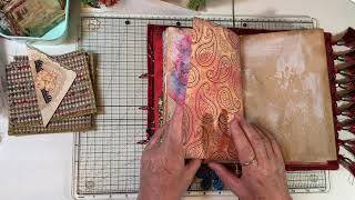 Craft with Me - Boho Journal - Pockets & Ephemera