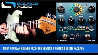Source Audio Collider Delay and Reverb