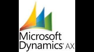 Dimensions financières Disponibilité dans Microsoft Dynamics Ax 2012 dans les Modules