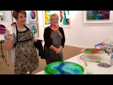 Resin Art Workshop Newcastle Australia.mp4