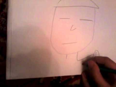 Как нарисовать китайца