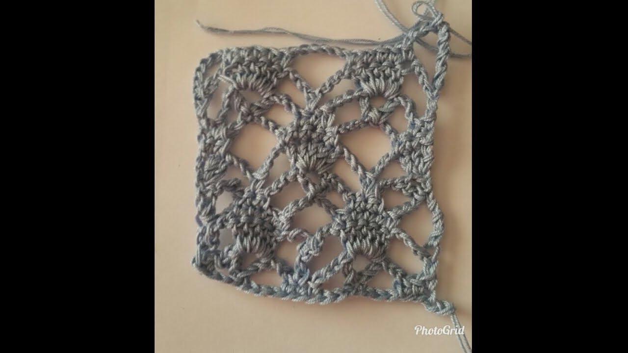 Punto Crochet All Uncinetto.Bellissimo Punto All Uncinetto Youtube