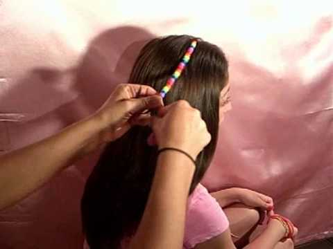 Ez hair beads slide on your hair in 3 easy steps youtube ccuart Gallery