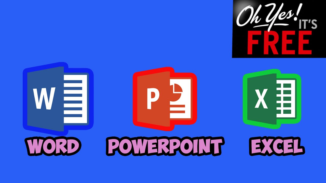 how to get word  excel  powerpoint 2016 for free  no hacks