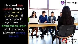 Lie and make me lose promotion offer? I will make you quit! | r/ProRevenge | #014