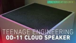 Teenage Engineering OD-11 Cloud Speaker hands-on