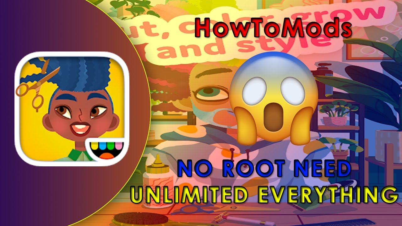 Toca Hair Salon 4 Unlimited Money Mod Apk Youtube