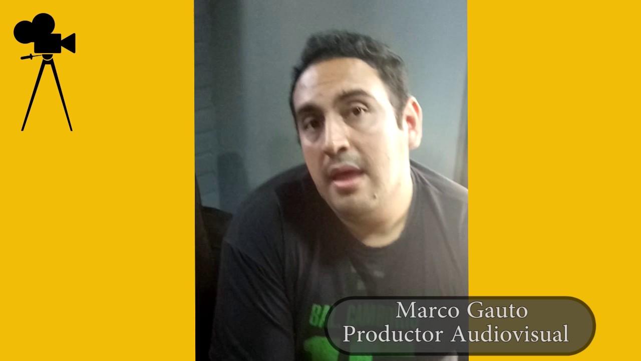 ENTREVISTA A MARCO GAUTO - DIFICULTADES PARA HACER CINE EN PARAGUAY ...