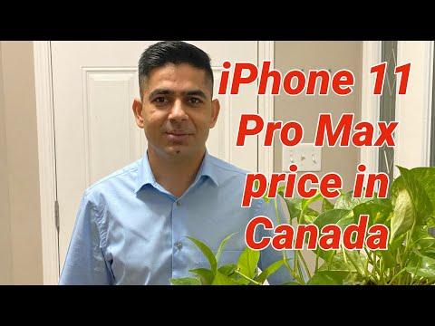 IPhone 11 Pro Max Price In Canada.