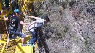 83m Bungee Jump at Rishikesh (ITBP Attachment) - Aishwarya Rastogi