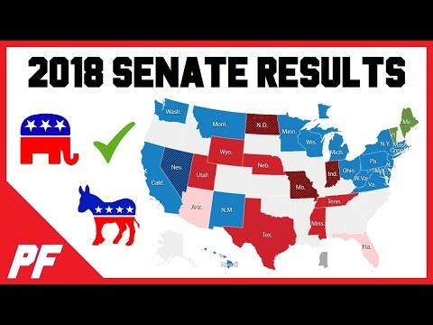 2018 Senate Midterm Election Results - Senate Voting Results - Who Won? Red Wave?