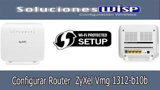 Configurar Router Zyxel vmg1312-b10b