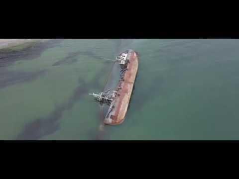 "Судно ""Дельфин"" с дрона // Odessa Cinematic Footage"
