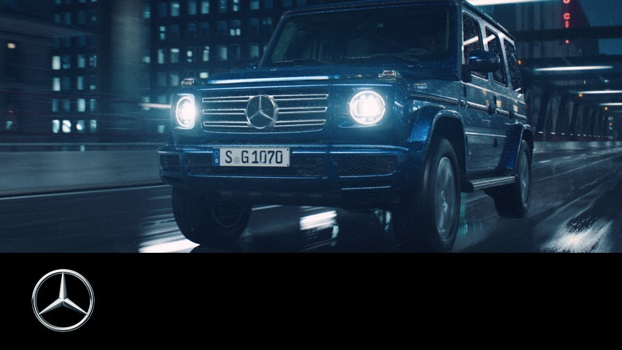 An icon reinvents itself  The new Mercedes-Benz G-Class