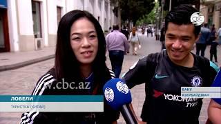Баку оправдывает ожидания туристов, приехавших на финал Лиги Европы УЕФА